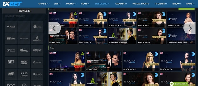 1x Bet-India-Live-Casino