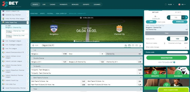 Football Betting Sites in India » Bet on Football Online in