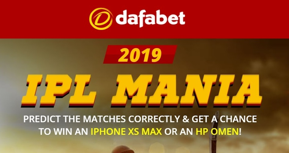 Predict IPL results and win an iPhone XS or up to ₹14,000
